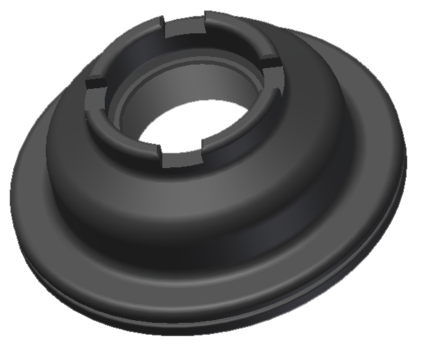 Product - Recessed Flange<br/>Mechanical